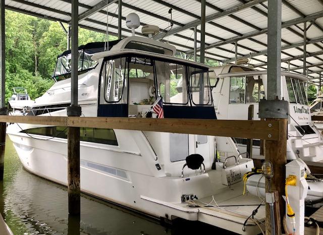 boat in slip